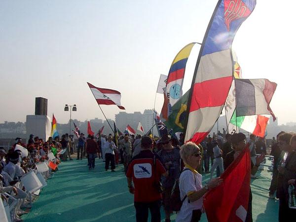 Uluslararası Uçurtma Festivali, açılış töreni